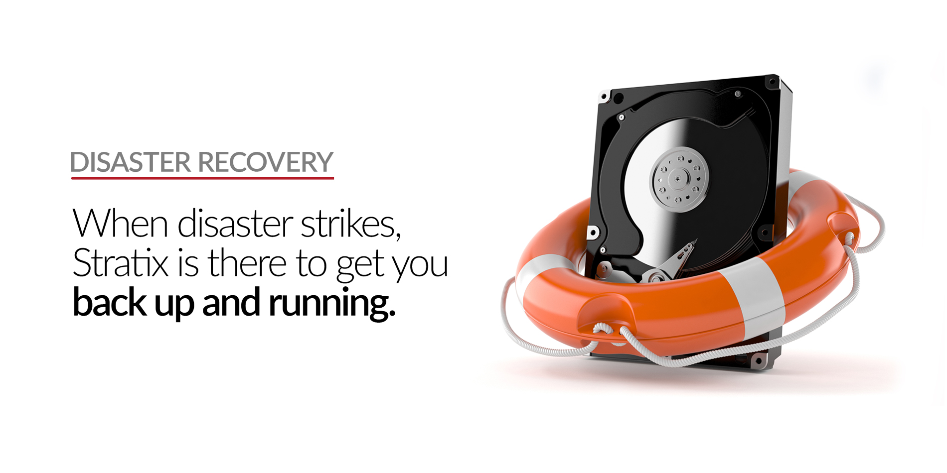 Stratix Systems Disaster Recovery Header