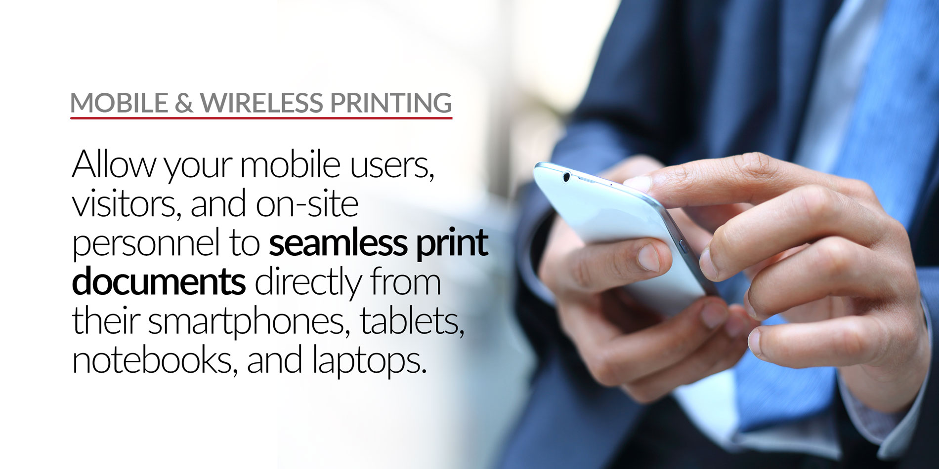 Stratix Systems Mobile and Wireless Printing Header