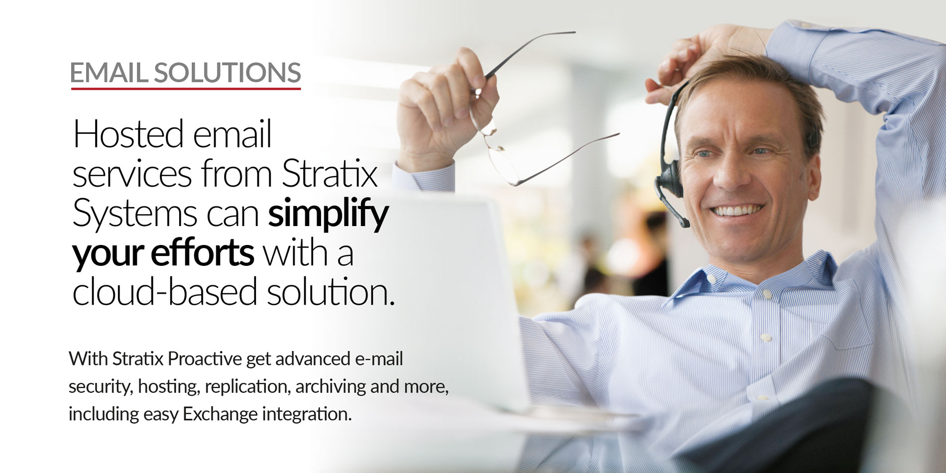 Stratix Systems Email Solutions Header