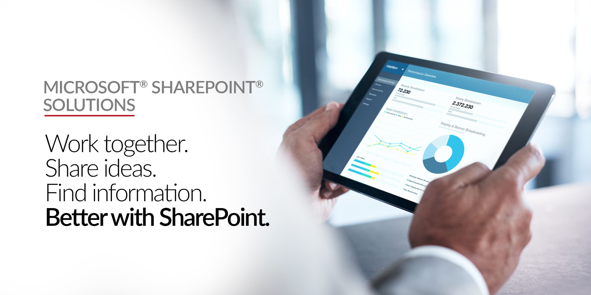 Stratix Systems Microsoft Sharepoint Solutions Header