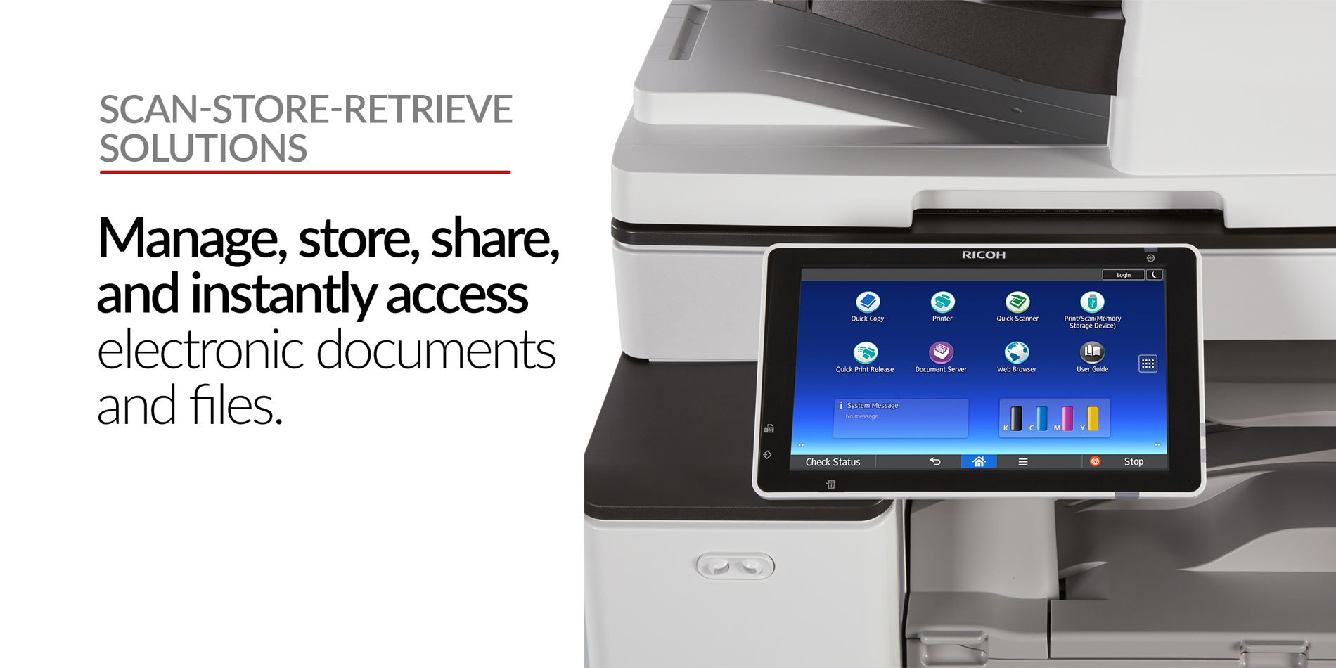 Stratix Systems Scan Store Retrieve