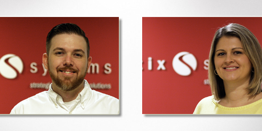Stratix Systems has promoted Bart Huntsberger to Logistics Manager and Tara Koch to Operations Manager.